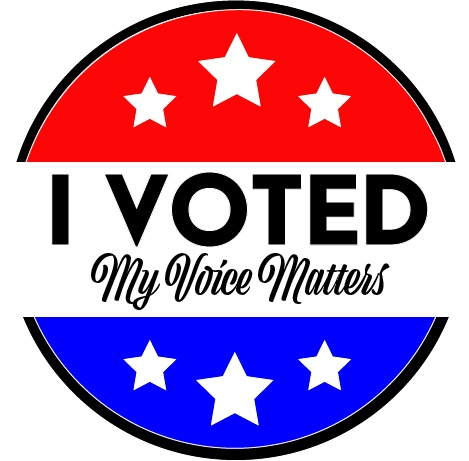I Voted Voting matters